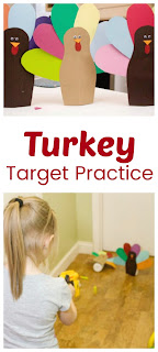 Thanksgiving Fun for Kids: Turkey Target Practice