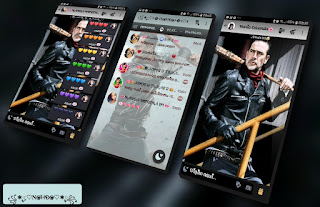 Negan Man Theme For YOWhatsApp & Fouad WhatsApp By Nanda