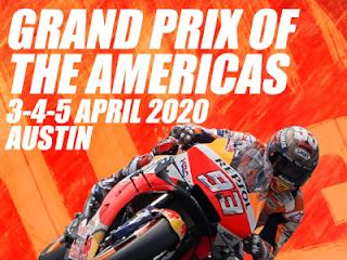 Suspendido el Gran Premio MotoGp de Las Américas 2020