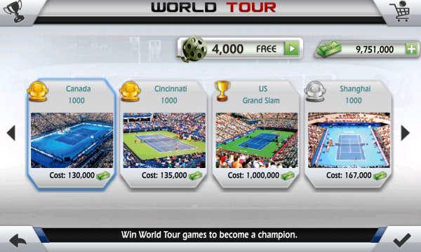 تحميل أفضل لعبة تنس 3D Tennis للاندرويد