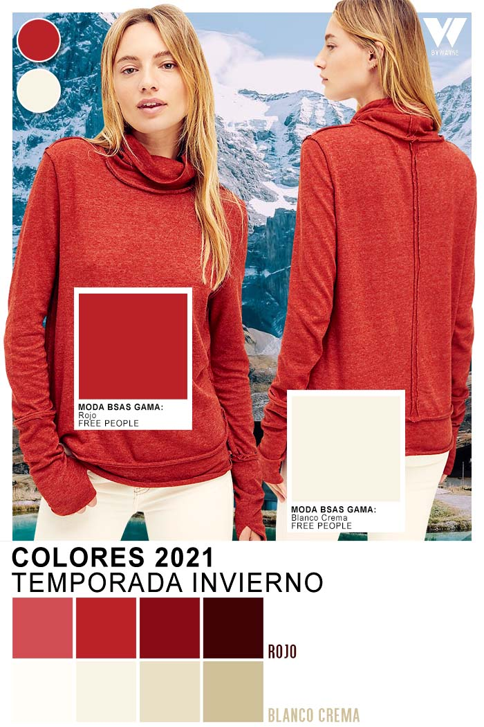 Colores otoño invierno 2021 ropa de mujer