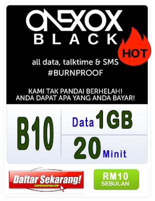 PELAN B10 BLACK ONE-XOX