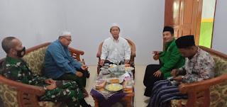 Musyawarah Pergantian Ketua Ansor, MWCNU Undang Babinsa Wringinanom