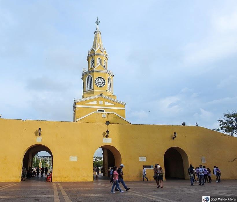 Torre del Relógio - O que fazer em Cartagena, Colômbia