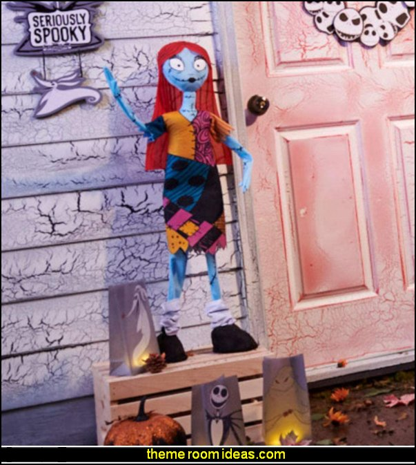 Giant Standing Sally The Nightmare Before Christmas Halloween Decoration BEDROOM DECOR