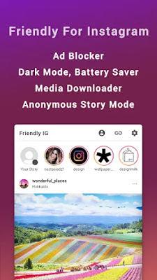 تحميل تطبيق Friendly for Instagram بديل تطبيق Instagram خفيف ومريح للاجهزة الاندرويد