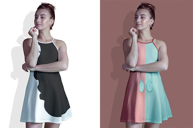 موك اب لاشكال ملابس نسائية - Short Dress