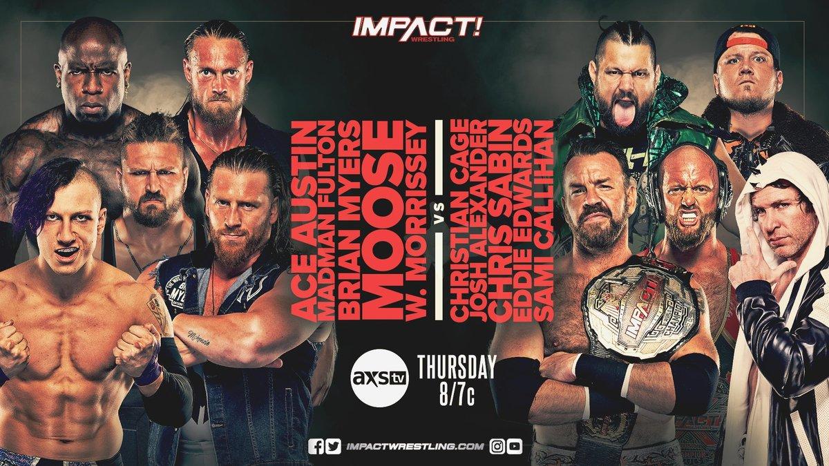 Cobertura: IMPACT Wrestling (16/09/2021) – Guerra!