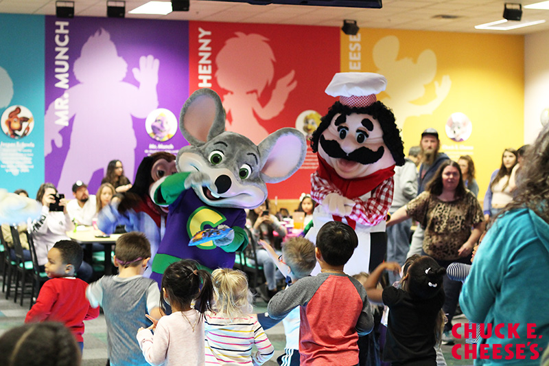 britney dearest check out the new and improved chuck e cheese s
