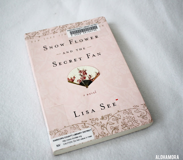 Snow Flower and the Secret Fan by Lisa See gets 4 out of 5 stars in my book review.  19th century China, Historical Fiction. Foot Binding. Women treatment. Culture. Traditions. Friendship. Nu-Shu. adult literature. Full review on the blog. Alohamora Open a Book alohamoraopenabook http://alohamoraopenabook.blogspot.com/