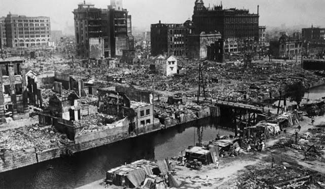 tërmet Kanto, Japoni, 1 Shtator 1923