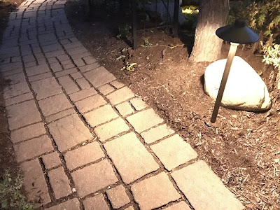 path lighting for curb appeal