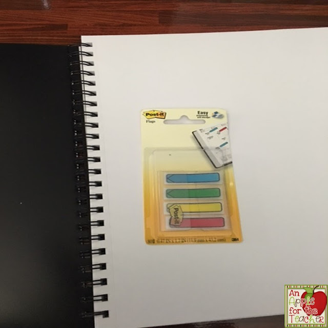 Using a Sketch Book for Anchor Charts