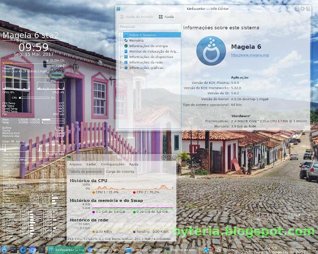 Mageia 6 sta2 atualizado até 14 Mai. 2017
