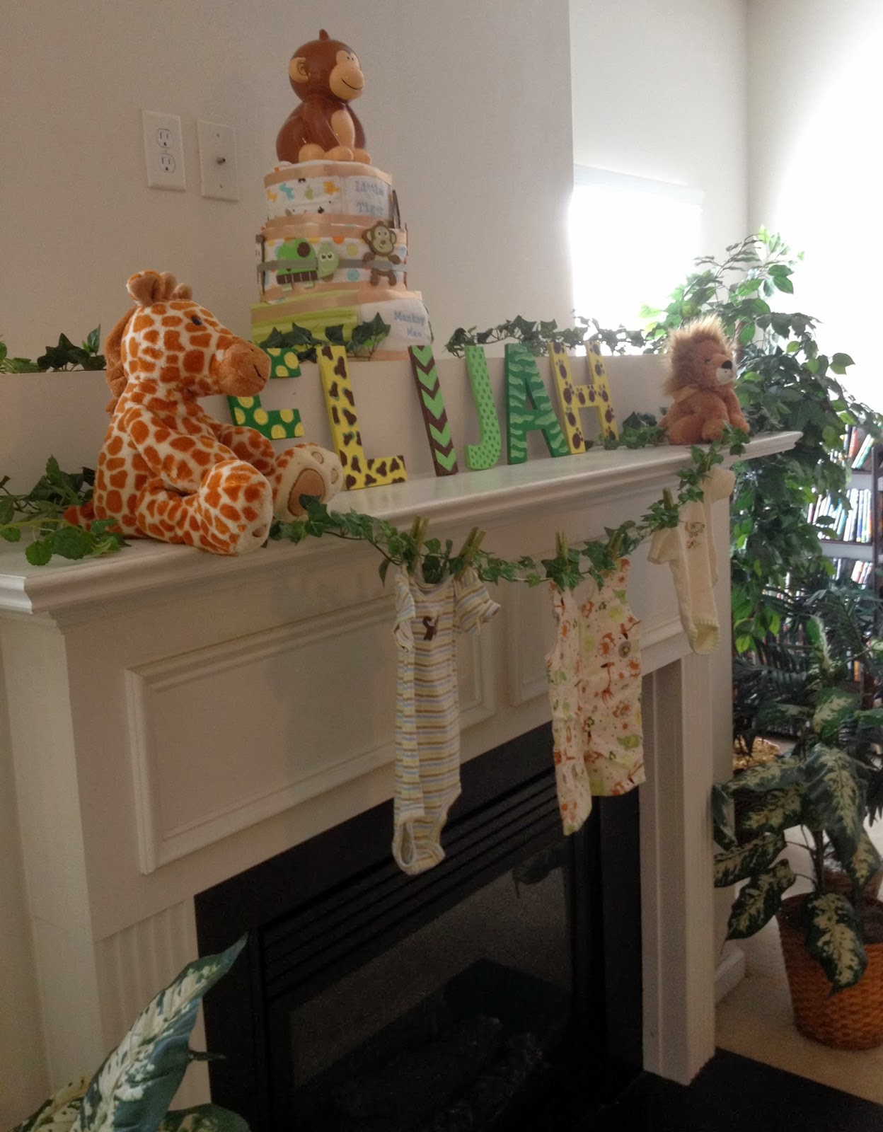 Paperlark Studio Jungle Safari Themed Baby Shower With Free Printables