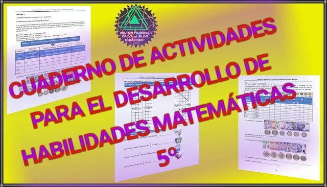 ACTIVIDADES PARA EL DESARROLLO DE HABILIDADES MATEMÁTICAS- 5°