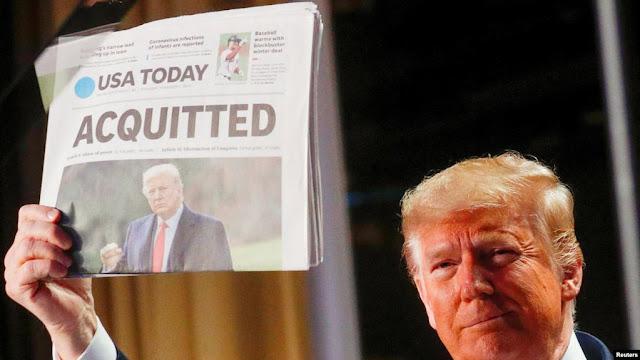 Dua Pengacara Trump Mundur Seminggu Sebelum Sidang Pemakzulan