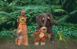 India Arie sings a jumping song. Sesame Street Happy Healthy Monsters