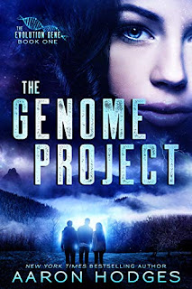 The Genome Project by Aaron Hodges book cover