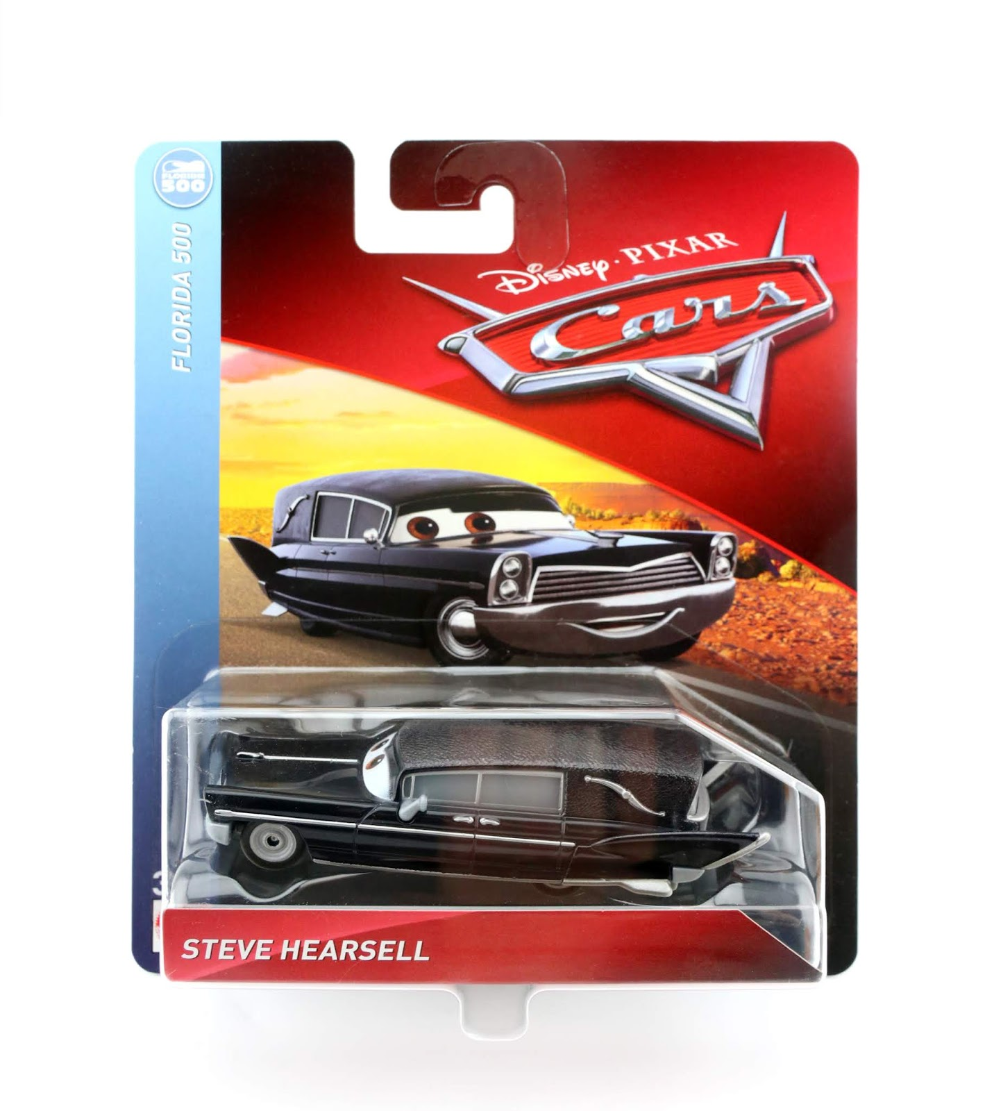 Cars 3 Steve Hearsell diecast