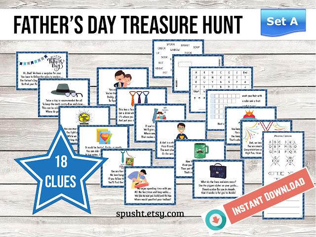 fathers day treasure hunt