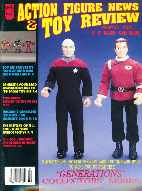 Star Trek Generations Playmates Picard Kirk