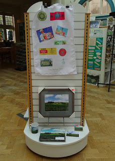Various gifts for sale at Calne Heritage Centre.