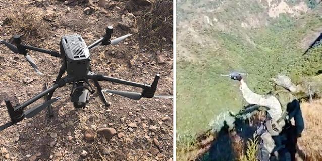 Temen a Drones de El CJNG? SEDENA busca sistema anti-drones para el Palacio Nacional
