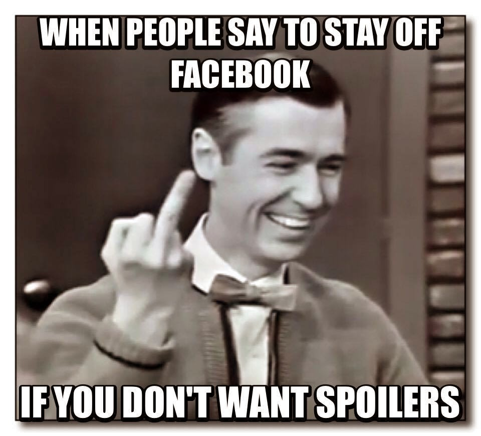 Stay off Facebook