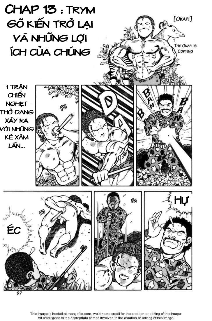 Chúa rừng Ta-chan chapter 13 trang 2