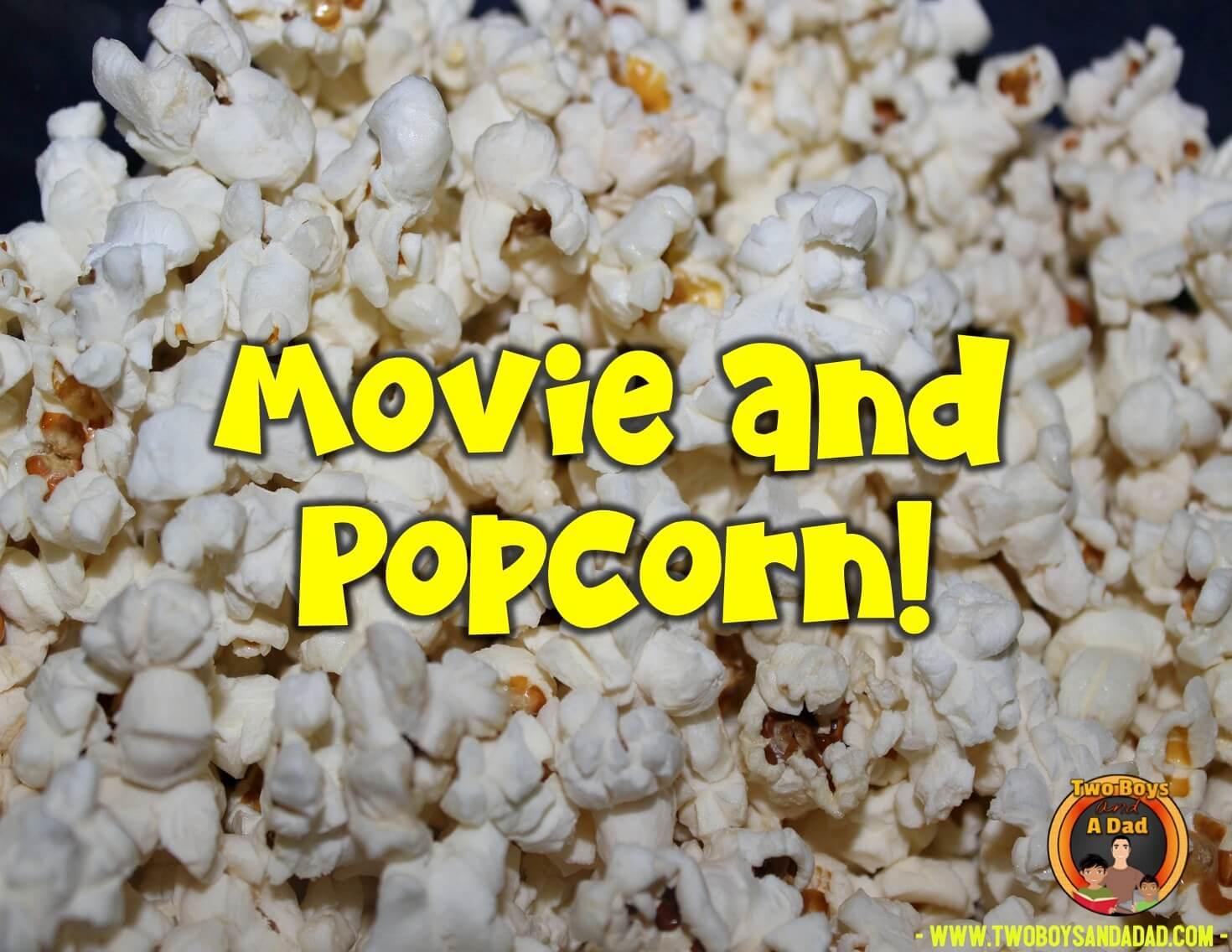 last day of school movie and popcorn
