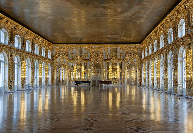 Актовый зал в Екатерининском дворце