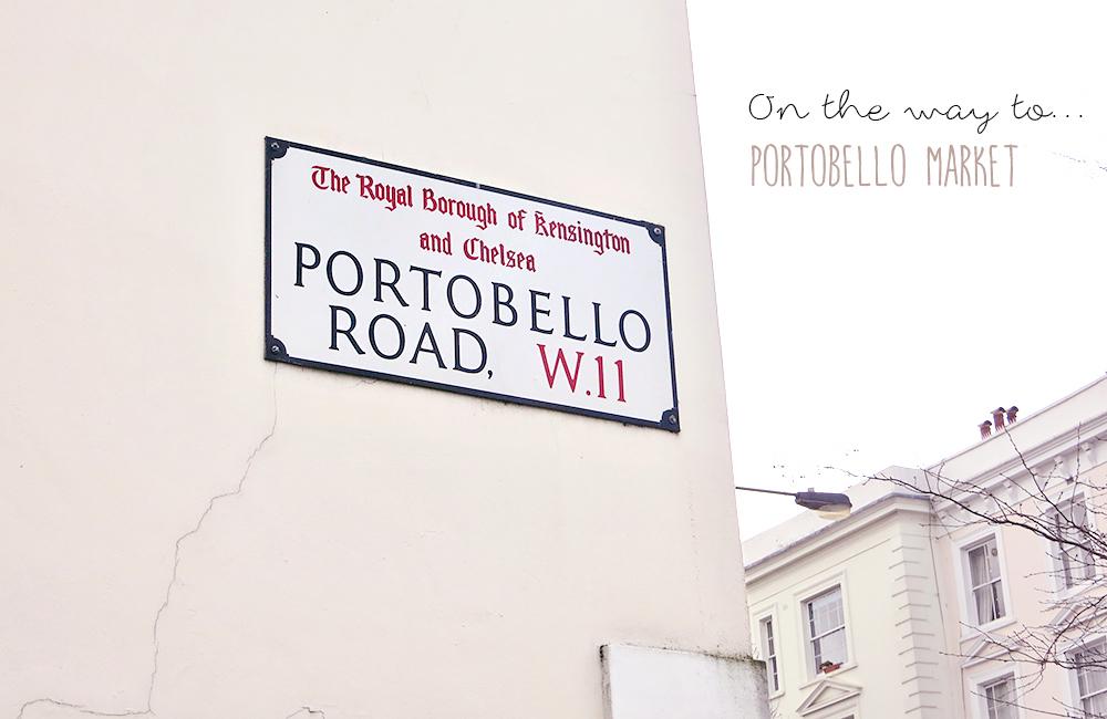 London Notting Hill Portobello Road Market