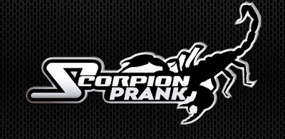 Scorpion on hand scary prank