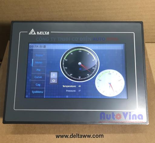 Màn hình cảm ứng HMI Delta 7 inch DOP-107DV tích hợp cổng Ethernet