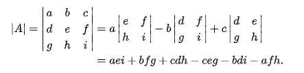 Determinan Matriks ordo 3×3