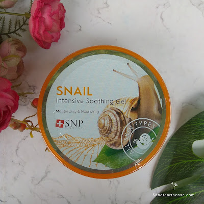 SNP Snail Intensive Soothing Gel