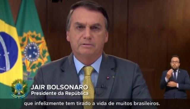 Bolsonaro mente em Tv aberta e vira alvo de panelaço em todo Brasil