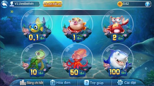 Các phòng chơi bắn cá ăn tiền 2