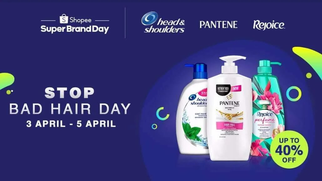 Enjoy a Good Hair Day with P&G's First Shopee Regional Super Brand Day