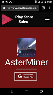 AsterMiner - Play Store Sales