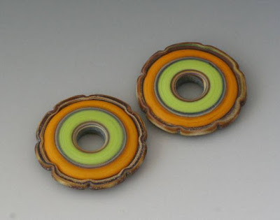 Lampwork by Julie Burgard - Outwest Art Glass