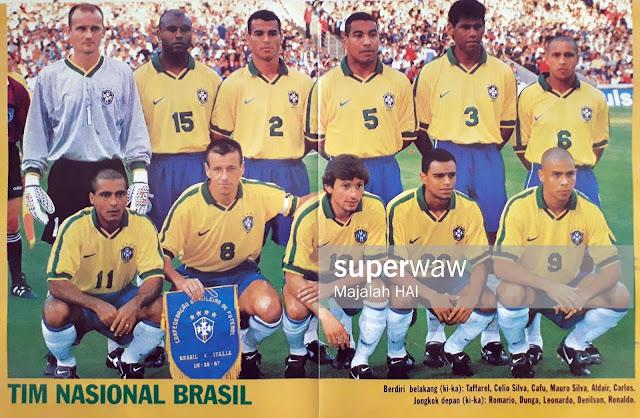BRASIL TEAM SQUAD 1997