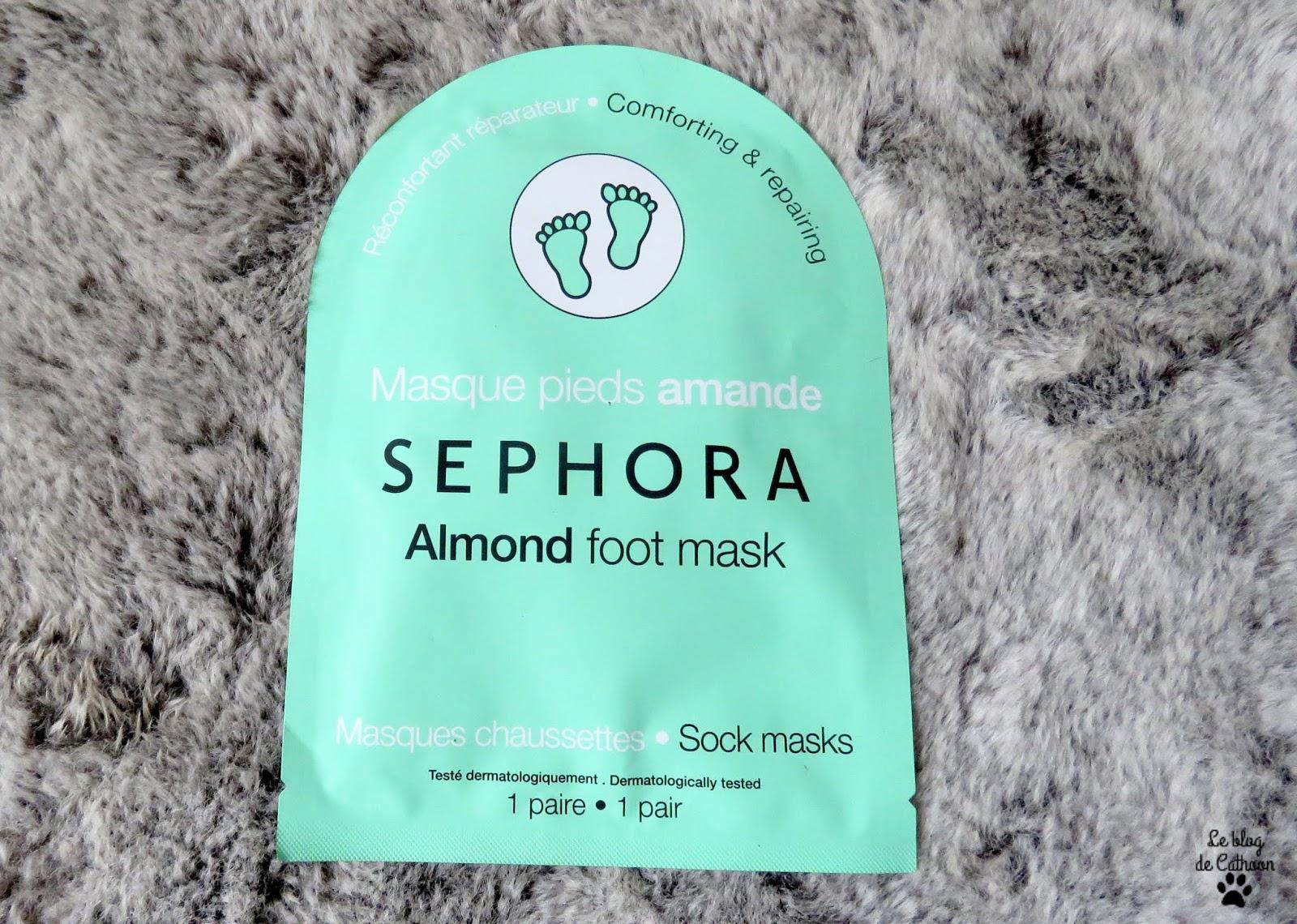 Masque Pieds Amande - Sephora