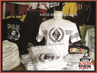 Pusat Konveksi Bikin Kaos Sablon Bandung