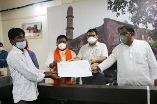 मुख्यमंत्री किसान कल्याण योजना के तहत लाभान्वित हुए जिले के किसान