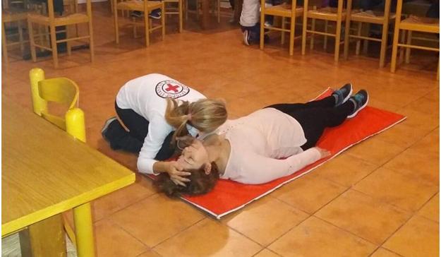 Ενημέρωση και επίδειξη παροχής Πρώτων Βοηθειών στο Πνευματικό Κέντρο Δρεπάνου Ναυπλίου