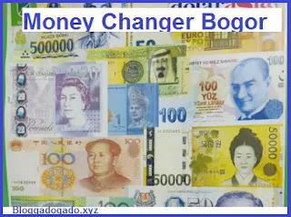 tempat penukaran uang atau money changer cibinong, bogor