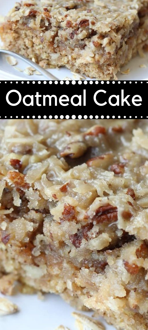 OATMEAL CAKE #desserts #cakes #oatmeal #cookie #recipes