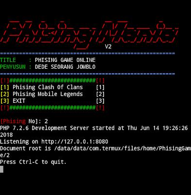 Hack ML Dengan Termux